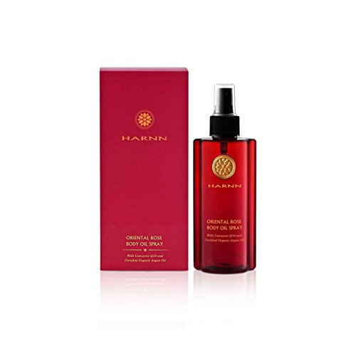 Oriental Rose Body Oil Spray with Coenzyme Q10 and Certified Organic huile d'argan 220 ml.