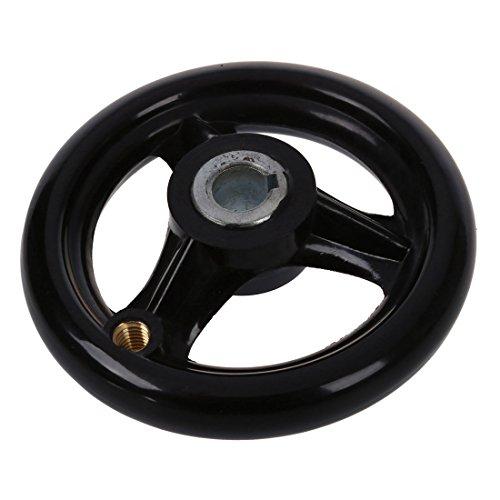 419aavbNL6L - Cikuso 3.9 pulgada diametro Rueda de mano con Manejar giratoria para fresadora