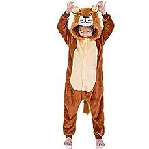 andare online migliore online elegante e grazioso pigiama intero animali bambini - Amazon.it