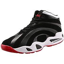 Moda Zapatillas Hombres Zapatos 2018 Adolescentes Adultos Deporte de Baloncesto Transpirables y livianas Calzado Gimnasio Sneakers
