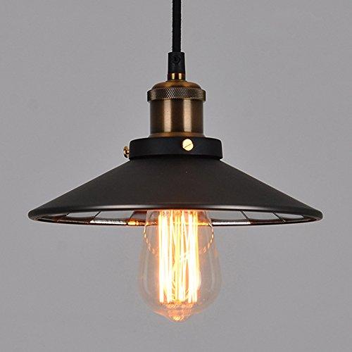 WYMBS Luce del pendente decorazione mobili Specchio piccolo ombrello nero