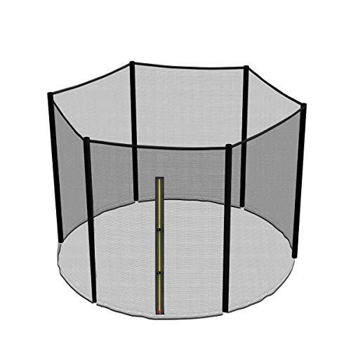 Greenbay Filet de sécurité pour Trampoline 305cm 10FT - 6 Barres(Barres Non Inclus)