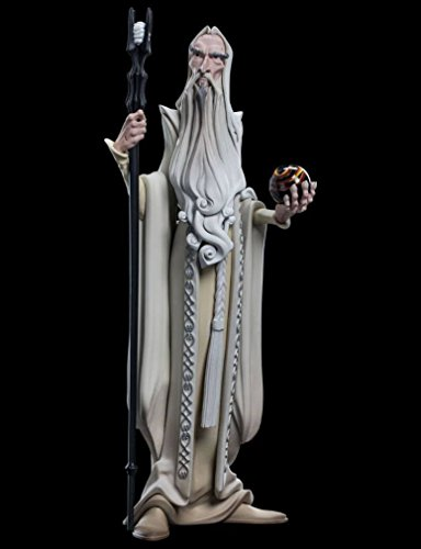 Unbekannt Lord of The Rings Mini Epics Vinyl Figure Saruman 17 cm Weta Collectibles (Ringe Der Der Stäbe Herr)