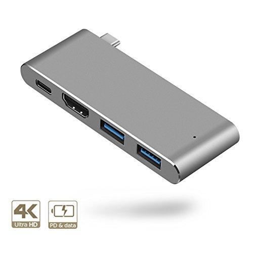Hub USB C 4K Hdmi Salida De Vídeo, 2USB Puertos para MacBook Pro Samsung Dex Station