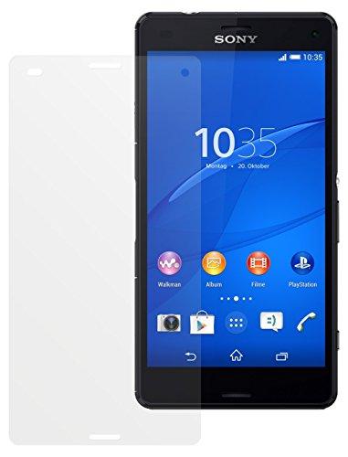 dipos I 2X Schutzfolie matt passend für Sony Xperia Z3 Compact Folie Bildschirmschutzfolie