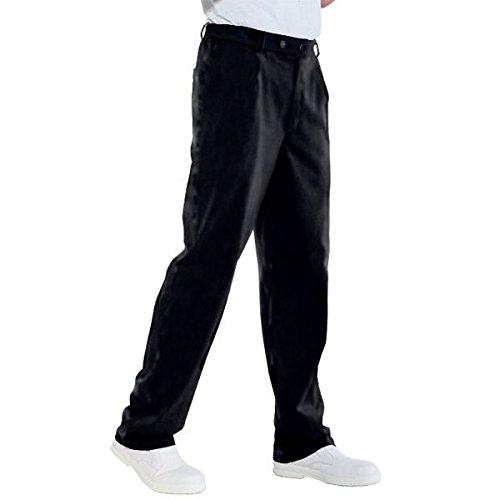 ATELIER DEL RICAMO - Pantaloni Cuoco Isacco, Colore: Nero, Taglia: 48