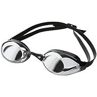 Adidas Persistar Mirror - Ropa de natación con protección solar para hombre, color negro, talla Talla única