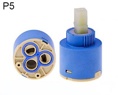 - Ersatz-keramik-kartusche (35MM Keramik Kartusche / Armatur Wasserhahn Ersatz Keramik Steuer Kartusche / Patrone 35mm Standard Model WP7)