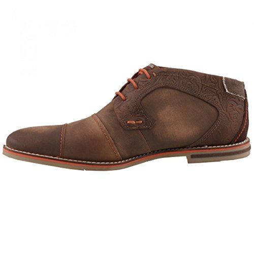 Bugatti Herren 312111101500 Derby Braun (dark brown 6100)