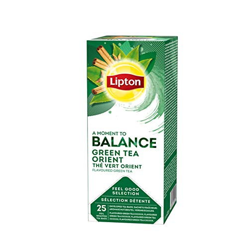 Lipton 12 Boxes TCHAE Green Tea Orient Spice in New Packaging