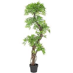 Stilvoller künstlicher Baum & Pflanzen, Der Japanese Fruticosa Tree ist eine wunderschöner künstliche Pflanze für Büros und Innendekorationen Höhe: 165cm groß. Pflanzen für einen Wintergarten