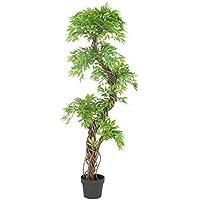 Vert Lifestyle Elegante Fruticosa Japonesa Artificial Arbol, Lujosa Réplica/Planta Artificial de Interior/ 165 cm de Altura hogar o la Oficina. Plantas de Patio