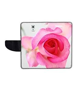 KolorEdge Printed Flip Cover For Samsung Galaxy Note 3 Multicolor - (55KeMlogo09229SamNote3)