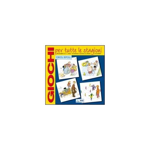 libro per bambini - giochi per tutte le stagioni
