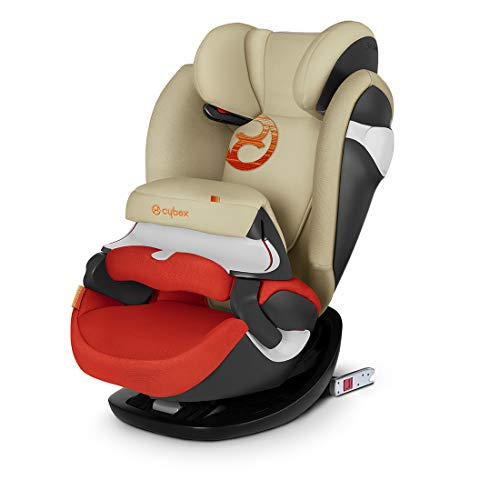 Cybex Gold Pallas M-fix, Autositz Gruppe 1/2/3 (9-36 kg), mit Isofix, Kollektion 2018, Autumn Gold