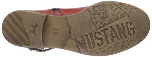Mustang Damen 1157-514 Combat Boots Rot (5 rot)
