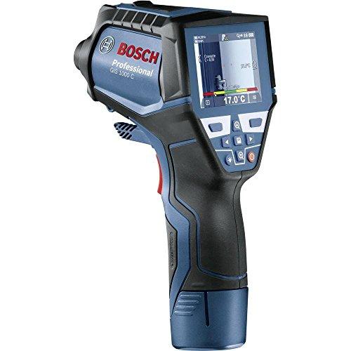Bosch Professional GIS Thermodetektor 1000 C (App Funktion, 4x AA Batterien, Batterien Adapter, Micro-USB Kabel, Karton, Messbereich: -40° C bis +1000° C) Thermometer Von Fluke