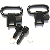WEREWOLVES Quick Detach Sling Swivels Stud 1 \'\' Kit de accesorios de caza para pistola rifle Caza W/Tornillos Sling Mount 2 piezas