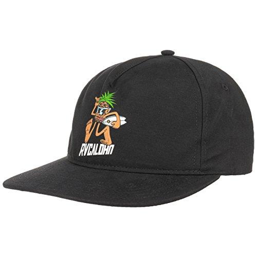 RVCA Pineapple Man Snapback Cap Basecap Baseballcap Flat Brim Kappe Käppi Cap Basecap (One Size - - Rvca Baseball