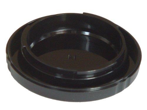 Gehäuse-Deckel schwarz passend für Nikon D40(x), D50, D60(x), D70(s), D80, D90, D100(s), D200, D300, D600, D800(E), D3000, D3200, D5000, D5200, D7000.