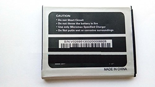 Generic Replacement Internal Battery for Micromax A77 Canvas Juice3000 Mah Li-Ion