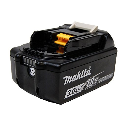 Price comparison product image Makita BL1830B battery Li-Ion 3.0Ah 18Volt with Charge Indicator-1975995