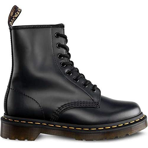 rwachsene 1460 10072004 Sneaker, Schwarz Smooth 59 Last Black, 45 EU ()