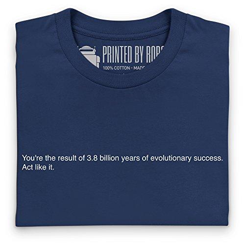 Evolutionary Success T-Shirt, Damen Dunkelblau