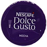 Nescafé Dolce Gusto Mocha, 16 Capsules - Pack of 3 (48 Capsules, 24 Servings)