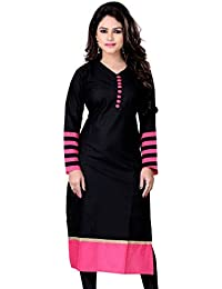 3d67790d16891 Amazon.in  Black or Transparent - Kurtas   Ethnic Wear  Clothing ...