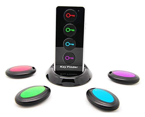 Wireless Localizador de Llaves Buscador Mensáfono Monedero Encontrador Cartera...
