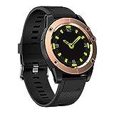 Tracker Fitnessaktivitäten, Trackerd Aktivitätsanzeige, Farbige Anzeige mit Pulsmesser, Bluetooth 4.0 Ip68 Smart Wristband Schrittzähler mit Allarme/Kalorien/Schlafüberwachung für Android,
