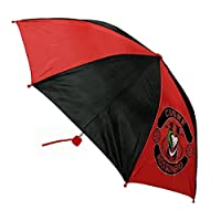 Football Sport XM-111 Folding Umbrella, Children, Diameter 35 Inches, Polyester (Red)
