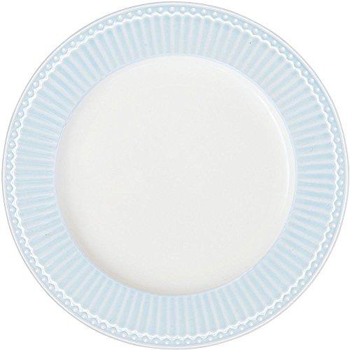 GreenGate Teller - Dinner Plate - Alice Pale Blue 26 cm Blue Plate