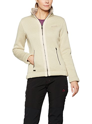Regatta Damen Ranita Fleece, damen, Ranita, Light Vanilla/bar (100% Polyester-fleece Trim)