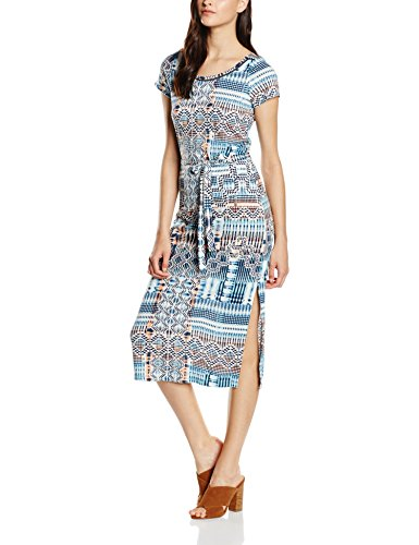 Sandwich Jersey, Tunique de Plage Femme Multicolore (Mood Indigo)