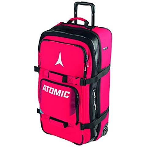 Atomic, AL5021810, Trolley Sac de Voyage (85L), Pour Transporter l'Équipement de Ski et de Snowboard, 81x40x30 cm, Rouge, REDSTER SKI GEAR TRAVEL BAG