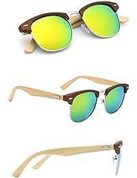 10 stücke Heißer verkauf holz sonnenbrille retro brille