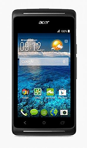 Acer Liquid Z205 Smartphone (10,2 cm (4 Zoll) TFT-Display, 4GB interner Speicher, Android 4.4 KitKat, 2 Megapixel Kamera) schwarz
