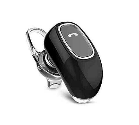 Eximtrade Auto Voiture Sans Fil Bluetooth écouteur Stéréo Casque à écouteurs avec Microphone pour Apple iPhone 4/4s/5/5s/6/6s/6 Plus/6s Plus, Samsung Galaxy S4/S5/S6/S6 Edge/S6 Edge Plus/Note 3/Note 4/Note 5, HTC One, Motorola, Sony Xperia, autre Smartphones et