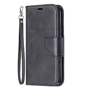 NEXCURIO Hülle iPhone 11 Pro, Klapphülle Leder Flip Case Schutzhülle Tasche Cover mit Ständer Magnet Kartenfach für Apple iPhone 11 Pro 2019 –