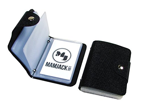 Mamjack - Porte-Carte de Crédit Bleue Visite Fidélité en Pochette Femme Homme Neuf