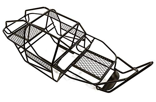 Integy RC Model Hop-ups C27217 1/10 Steel DIY Roll Cage Tube Frame Chassis for Axial SCX-10 & AX10