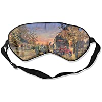 Eye Mask Eyeshade Farm Scenery Sleeping Mask Blindfold Eyepatch Adjustable Head Strap preisvergleich bei billige-tabletten.eu