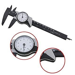 150mm / 6 inch Dial Plastic Vernier Caliper Measurement Gauge Micrometer Measuring Ruler Tool