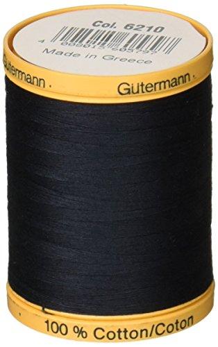 gutermann-fil-de-coton-naturel-solides-filetage-bleu-nuit