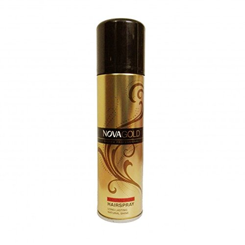 Nova Gold Hair Spray - Natural Hold 200 ML Made in UK
