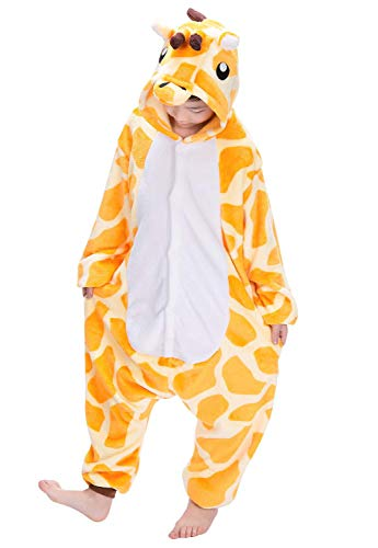 2becdc4148 Dato bambini pigiama interi kigurumi animale cosplay costume giraffa unisex