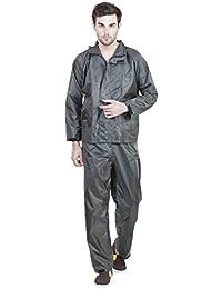 Versalis Men's Polyester Raincoat - Trust Suit (Green - XL)