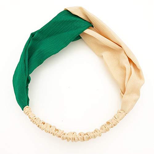 Amphia - Frauen-elastischer Netter Druck-Haarband Turban verknotetes Haarband Bandanas-Stirnband - Größe: ca.5 * 26cm